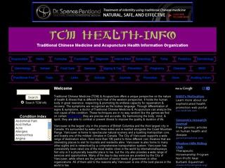 Health Info: Traditional Chinese Medicine (TCM)