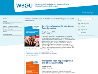 German Advisory Council on Global Change
