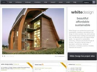 White Design Sustainable Architecture
