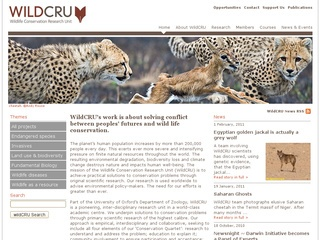 WildCRU Wildlife Conservation Research Unit