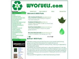 Waste Vegetable Oil Fuels