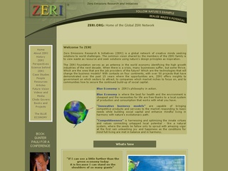 Zero Emissions Research Initiative (ZERI) Foundation