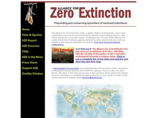 Alliance for Zero Extinction